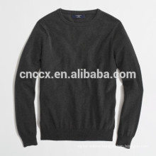 15JWT0118 man cotton cashmere soft crew neck sweater