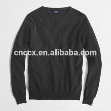 Camisola macia do pescoço de grupo da caxemira do algodão do homem 15JWT0118