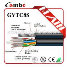 Hotsale in US UV protegido Enterrado / Conducto / Aplicación aérea SM / MM Cable de fibra de carbono de núcleo