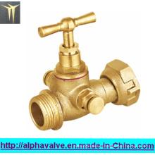 Латунный запорный клапан для воды (a. 0151)