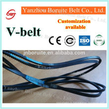 Courroie de ventilateur ceinture de haute qualité en caoutchouc auto v (personnalisation disponible)