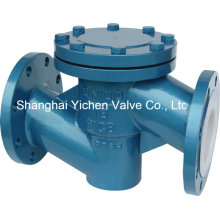 PFA Lined Straigth Through Check Valve (H41F46)