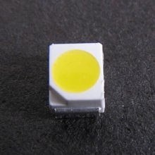 Color amarillo 3528 SMD LED para tubo
