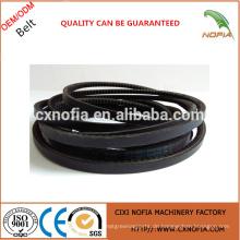 Cogged Belt Black Belt für die Übertragung