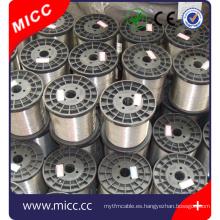 NiCr6015 NiCr7030 NiCr8020 alambre de níquel-cromo