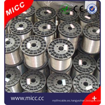 Alambre de aleación de nicr6020 nicr de alambre de resistencia a altas temperaturas