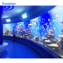 Customized thick large size clear acrylic sheet for fish tank aquarium
