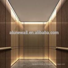 Panneau composite d'acier inoxydable de cage d'ascenseur