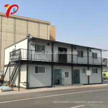 La maison 40Ft faite sur commande de luxe 40Ft préfabriquée type de villa Chambre mobile de récipient habitable