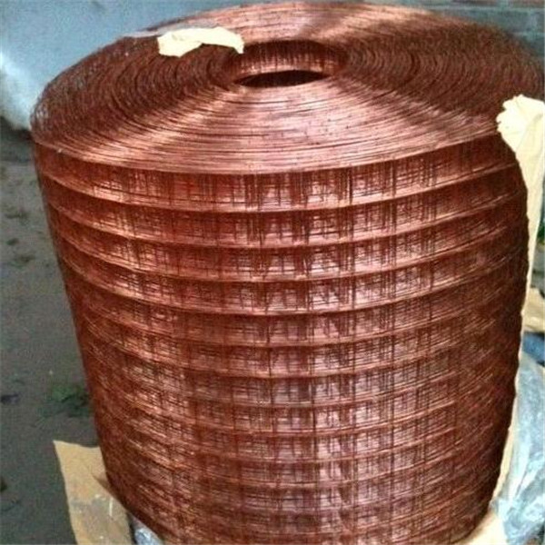 Copper 80mesh Square hole Wire Mesh