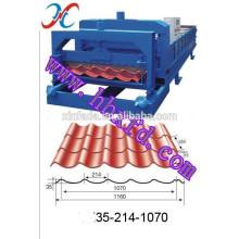 1070 glasierte Fliesenrollenformmaschine / Stahlblechformmaschine