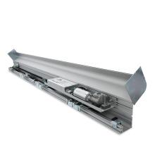 Porta deslizante automática resistente