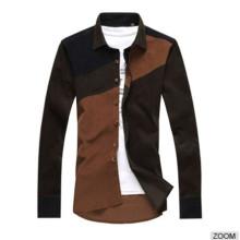 New Style gekämmte Baumwolle Neueste Fancy Dress Shirts für Männer