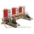 Uso en interiores Interruptor de puesta a tierra de alto voltaje de corriente alterna de 3 polos-Jn15-24