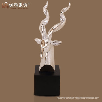 décor de tête d'antilope polyresine d'excellente qualité pour décoration de maison