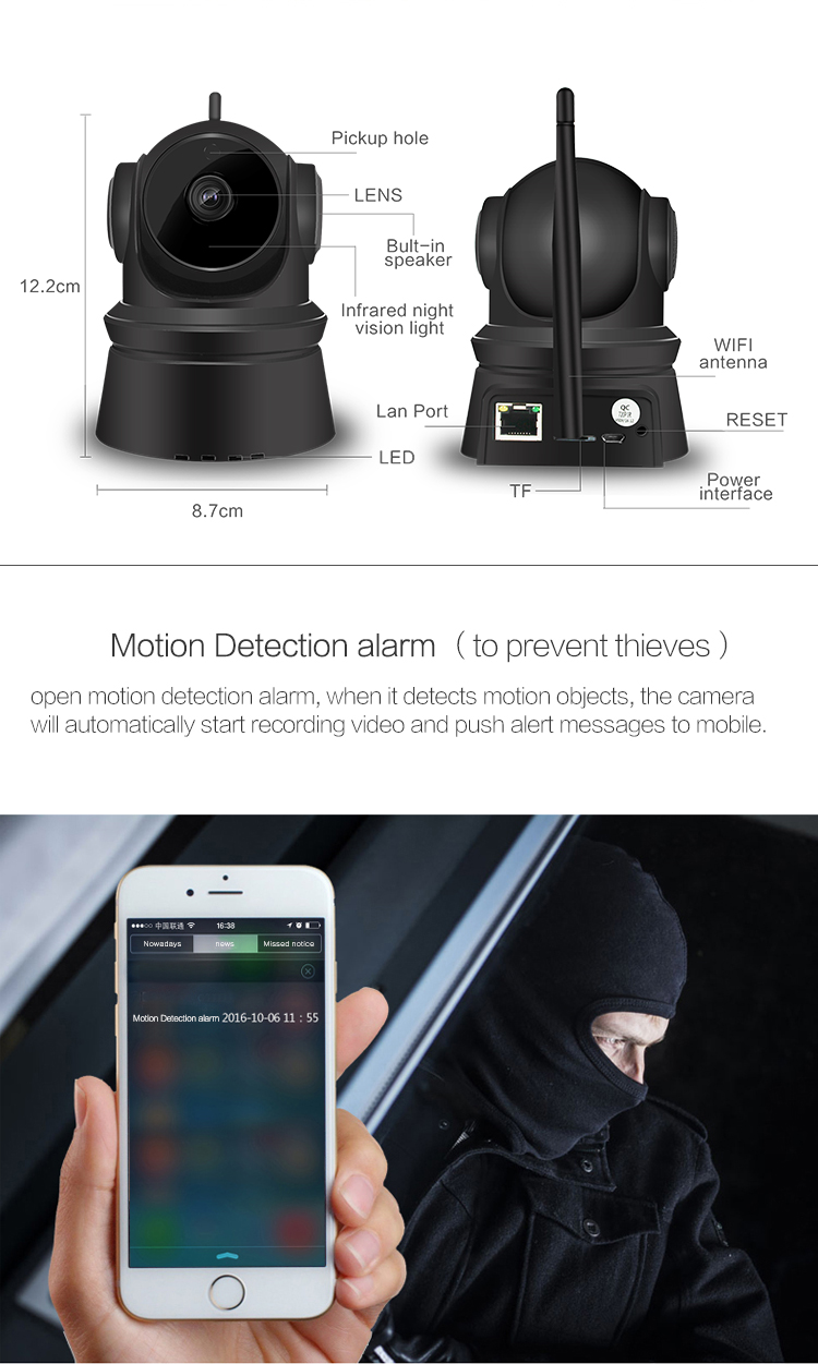 wireless outdoor home security cameras