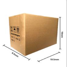Caja de cartón corrugado duro especial por encargo.