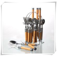 Ustensiles de cuisine Ustensiles de cuisine en acier inoxydable Couteau Ensemble de cuillères Foks