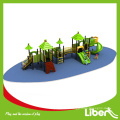 Vergnügungspark im Freien volle Plastikspielplatzausrüstungen von (LE.QS.001)