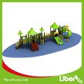 Parque de diversões ao ar livre equipamentos de playground plástico de (LE.QS.001)