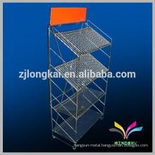 kitchen floor stand magic metal wire shelf rack
