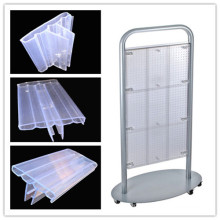 Extrude Display Stand, Extrude Plastic Profile Display Stand (A-001)