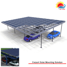 Instalação de grande painel solar Prime em suportes de montagem no solo (SY0421)