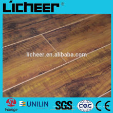 Laminate flooring manufacturers china middle embossed surface /easy click laminate flooring
