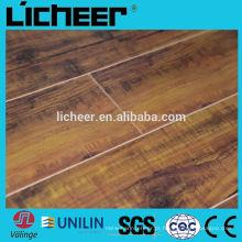 Laminate flooring fabricantes China centro em relevo superfície 8.3mm / fácil clique piso laminado
