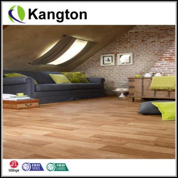 Suelo en relieve del PVC del grano de madera del lvt (suelo del PVC del grano de madera)