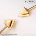 51643- Xuping arrow design cuff bangle copper alloy jewelry