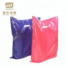 Factory Supply 12 x 9 Purple Pink Colors Plastic Merchandise Gift Promotion Poly Retail Bag Wholesale