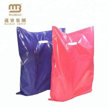 Fornecimento de fábrica 12 x 9 Roxo Rosa Cores Mercadoria de Plástico Promoção de Poliéster Saco de Varejo Atacado
