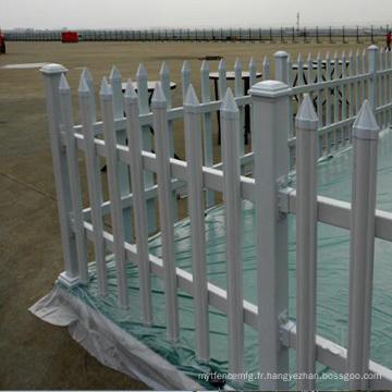 panneau de clôture en aluminium décoratif utilisé temporaire qualité usine flèche