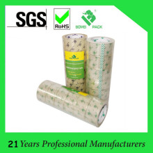 Crystal Super Clear BOPP Adhesive Tape with Company Logo