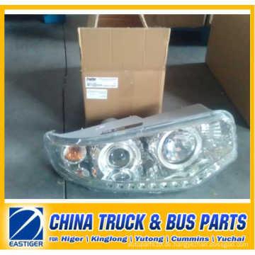 China Bus Teile von 37V11-11513 Kopf Lampe für Higer Bodyparts