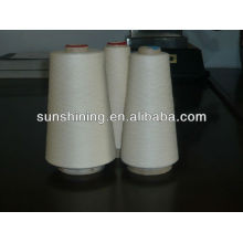 100% 16S/1 viscose spun yarn raw white