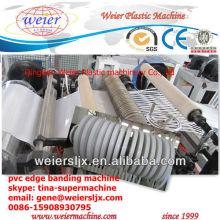 ПВХ лист дробление машина кольцевания края PVC