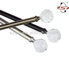 "Canopy Acrylic Ball Drapery Rod,copper, 1"" rod diameter"