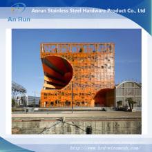 Hermosa hoja de metal de perforación para la decoración de la arquitectura
