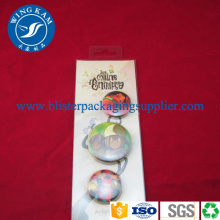 Slide Card Blister Verpackung PET PP Custom