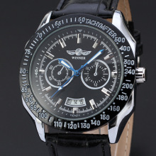 sport men watch with date design winner multi function mechanical watch