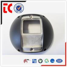 Precisão padrão feito sob encomenda da tampa da frente da câmera de alumínio die casting para acessório de monitor de segurança