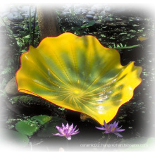 Glass Lotus Leave