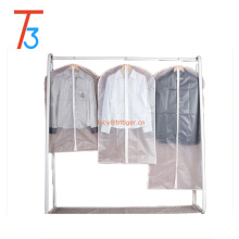 Top Quality Easy Organize Travel Cloth Bag, Clear Zippered Suit Bags Zipper Garment Clothes Covers