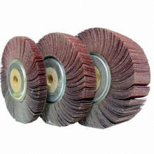 Abrasive Flap Wheel with Wood Center