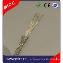 RTD Câble d'extension Type RTD-FG / FG / SSB-7/0. Fil thermocouple IEC 2x3-IEC / RTD
