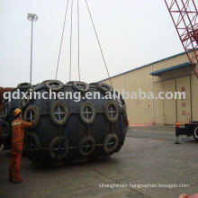 boat dock bumpers safe for excess load boat fender using ship to ship working press 0.05Mpa - 0.08 Mpa
