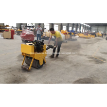 New Hydraulic  Mini Portable Hand Push Type Gasoline Engine Road Roller 800kg for Sale