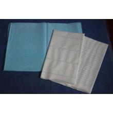 Stripped SPA Disposable Mattress Pads , Restaurant Facial B